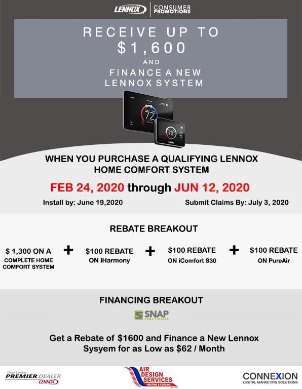 Lennox Spring Consumer Promotion